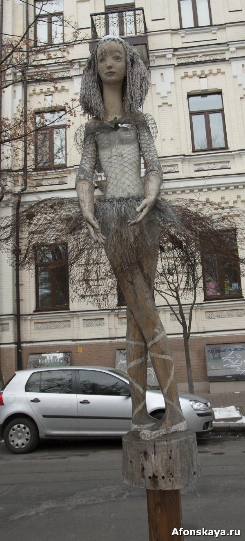 памятник балерине киев