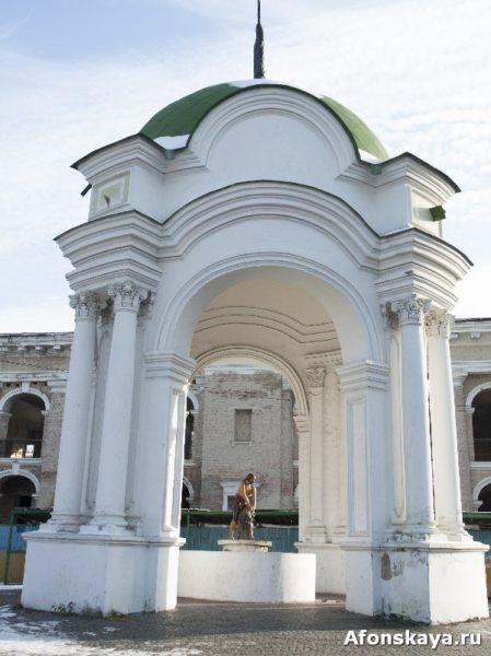 фонтан самсон со львом, киев