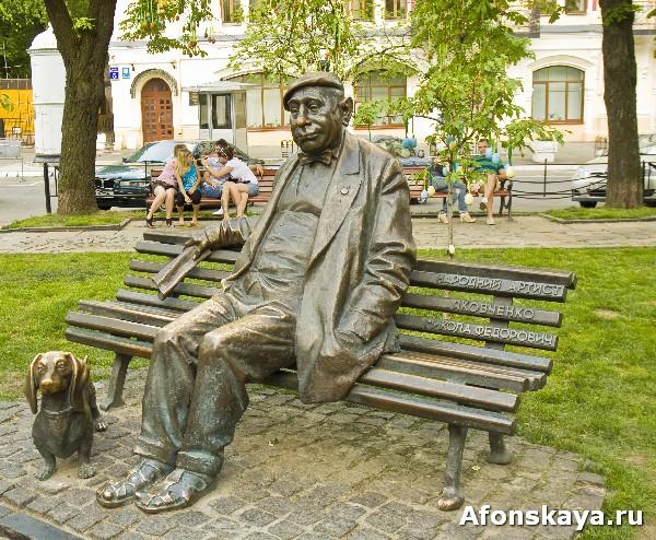 памятник актёру николаю яковченко киев
