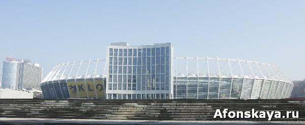 киев современные здания стадион