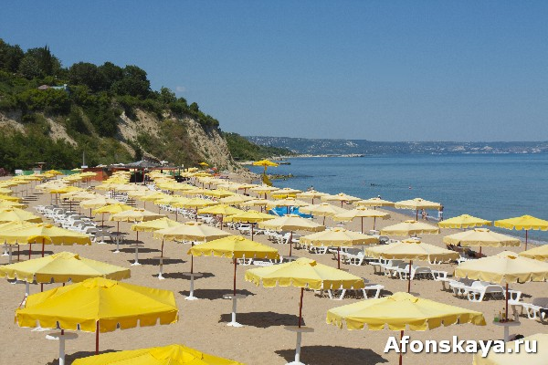 Золотые пески, Болгария