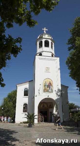 Созополь, Болгария, церковь св. Кирилла и Мефодия