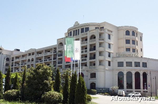 Бургас Болгария отель Приморец